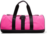 Monreal London Warrior Pvc-trimmed Quilted Scuba Bag - Pink