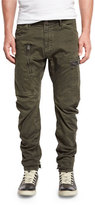 G Star G-Star Power 3D Tapered-Cuff Pants, Raven
