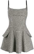 Alexander Wang fitted boucle dress