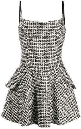 Alexander Wang fitted bouclé dress