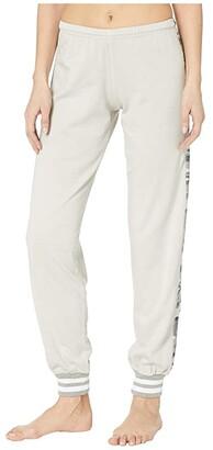 Hard Tail OG Sparkle Racer Stripe Pull-On Sweatpants (Concrete) Women's Casual Pants