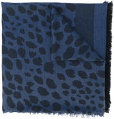 Paul Smith printed fringed scarf - women - Silk/Cotton/Wool - One Size