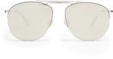 Le Specs Liberation mirrored aviator sunglasses