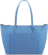 Smythson Panama East West leather tote
