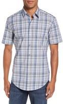 BOSS 'Robb' Slim Fit Check Sport Shirt
