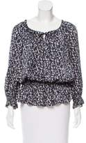 Sonia Rykiel Printed Long Sleeve Top