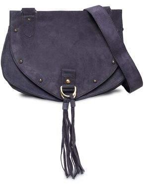 See by Chloe Collins Studded Suede Shoulder Bag