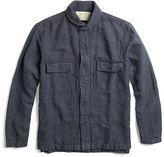 Ralph Lauren RRL Indigo Linen-Cotton Overshirt