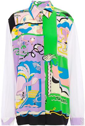 Emilio Pucci Printed Silk Crepe De Chine Shirt