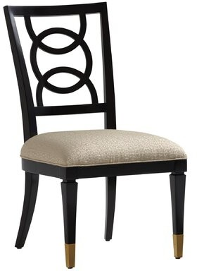 Lexington Carlyle Dining Chair Upholstery: Ivory