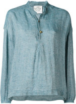 Forte Forte front placket shirt - women - Linen/Flax - II