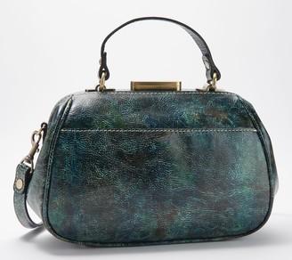 Patricia Nash Gracchi Frame Leather Satchel