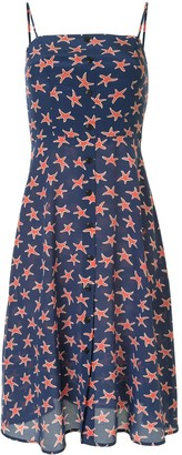 HVN Star Print Dress