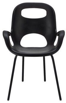 Umbra Oh Armchair Color: Black
