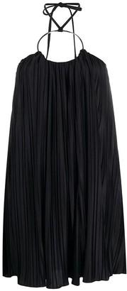 Balmain Dress In Black Polyester