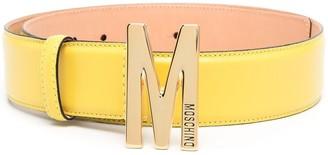 Moschino Logo-Buckle Belt