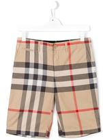 Burberry new classic check shorts
