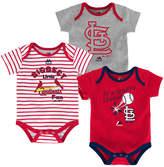Majestic St. Louis Cardinals Homerun 3-Piece Set, Baby Boy (12-18 months)