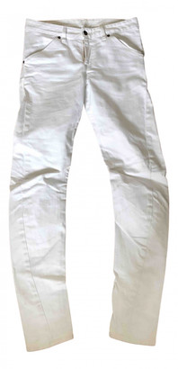 6397 White Cotton - elasthane Jeans