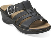 Clarks Lexi Alloy Slide Strap Sandals
