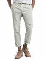 Gap Slim fit patchwork ankle wader pants