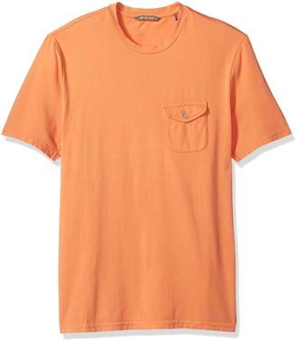 Michael Bastian Men's Short Sleeve Cotton Crewneck T-Shirt