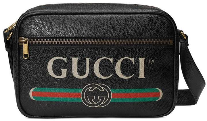 Gucci Print shoulder bag