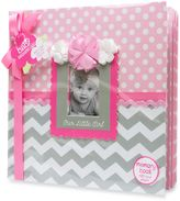 """AD Sutton """"Our Little Girl"""" Memory Book in Pink/Grey"""