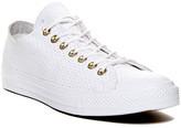 Converse Chuck Taylor All Star Perforated Leather Oxford Low Top Sneaker (Unisex)