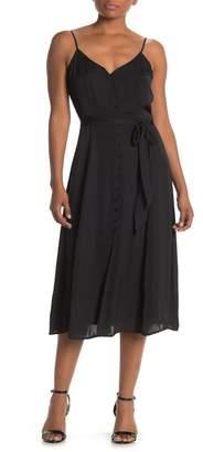 Vince Camuto V-Neck Sleeveless Dress