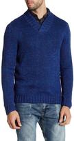 Original Penguin Stockinette Shawl Knit Pullover