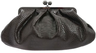 Max Mara Pasticcino Large Clutch Bag