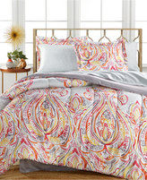 Sunham Harmony 6-Pc Twin XL Bedding Ensemble, Reversible