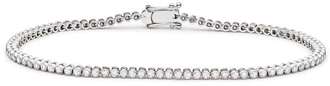 Genevive Brilliance Cz Tennis Bezel Bracelet