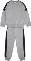 Moncler Logo cotton tracksuit 4-14 years