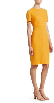 Akris Punto Zip Waistband Sheath Dress