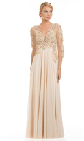 Lara Dresses - 32531 in Beige