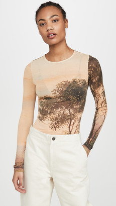 Acne Studios Estah Light Printed Tee