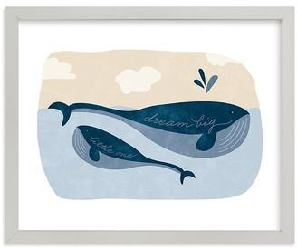 Pottery Barn Kids Little Whale Wall Art by Minted
