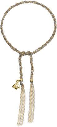 Carolina Bucci Virtue Bee Charm Lucky Bracelet - Yellow and White Gold