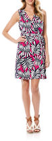 Laundry by Shelli Segal Printed Silk Wrap Dress