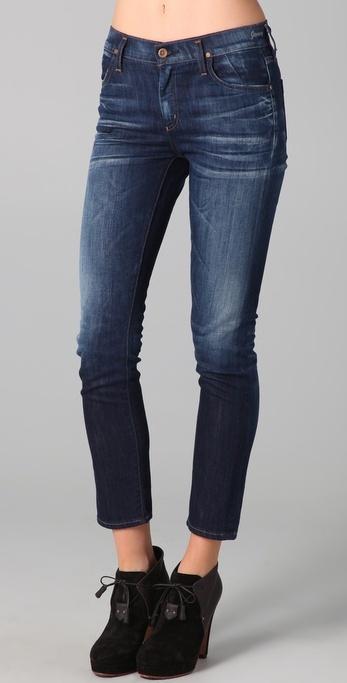 Gold Sign Jenny High Rise Slim Leg Jeans