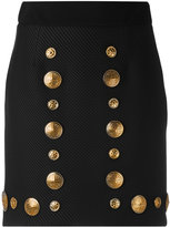 Fausto Puglisi metallic embellished skirt - women - Silk/Cotton/Polyamide/Viscose - 42