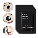 Baomabao 3 pcs Remove Blackhead Black Mud Deep Cleansing Purifying Peel Acne Face Mask
