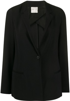 Forte Forte Fitted Narrow Lapel Blazer