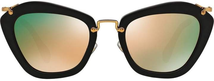 86cebf33fa81 Miu Miu Cat Eye Glasses - ShopStyle