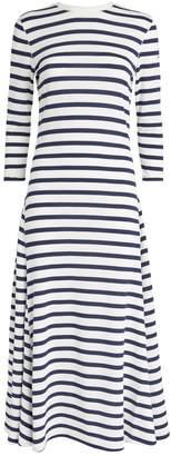 Polo Ralph Lauren Stripe Print Maxi Dress