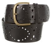 Dries Van Noten Perforated Leather Belt