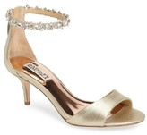 Badgley Mischka Women's Geranium Embellished Sandal