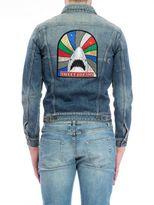 "Saint Laurent sweet Dreams Shars"" Denim Jacket"